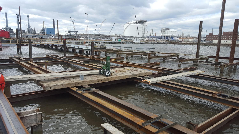 Sun Logistics, L.P. 9 New Ship Dock Construction – Marcus Hook, PA